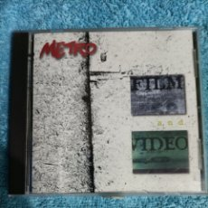 CDs de Música: CD METRO FILM AND VIDEO.. Lote 289017633