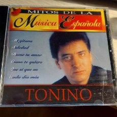 CDs de Música: CD. DE MITOS DE LA MUSICA ESPAÑOLA -TONINO-. Lote 289017683