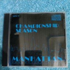 CDs de Música: CD CHAMPIONS SEASONS. Lote 289017703
