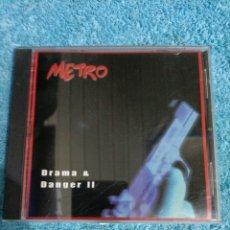 CDs de Música: CD METRO DRAMA DANGER 2.. Lote 289018548