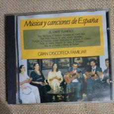 CDs de Música: CD MUSICA Y CANCIONES DE ESPAÑA.. Lote 289019198