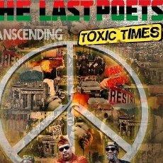 CDs de Música: -THE LAST POETS TRANSCENDING TOXIC TIMES CD US IMPORT. Lote 289038263