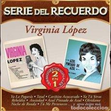 CDs de Música: VIRGINIA LOPEZ SERIE DEL RECUERDO CD MX IMPORT. Lote 289041523