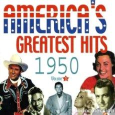 CDs de Música: AMERICAS GREATEST HITS VOL 1 1950 CD US IMP. Lote 289043448