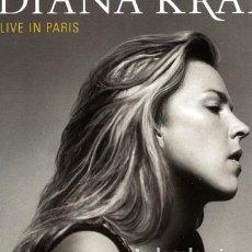 CDs de Música: DIANA KRALL KRALL DIANA LIVE IN PARIS CD IMPORT. Lote 289043483