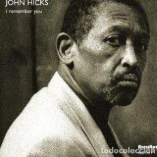 CDs de Música: JOHN HICKS I REMEMBER YOU CD IMPORT. Lote 289043523