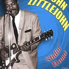 CDs de Música: JOHN LITTLEJOHN SLIDIN HOME CD US IMPORT. Lote 289043533