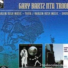 CDs de Música: BARTZ NTU TROOP GARY HARLEM BUSH MUSIC CD UK IMPORT. Lote 289043993