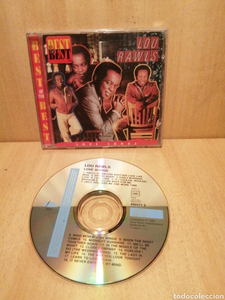 LOU RAWLS. LOVE SONGS. (Música - CD's Jazz, Blues, Soul y Gospel)
