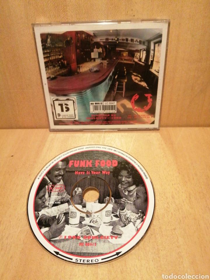 CDs de Música: Funk Food. Have it your way. Recopilatorio Soulciety. Año 1996. - Foto 4 - 289201018