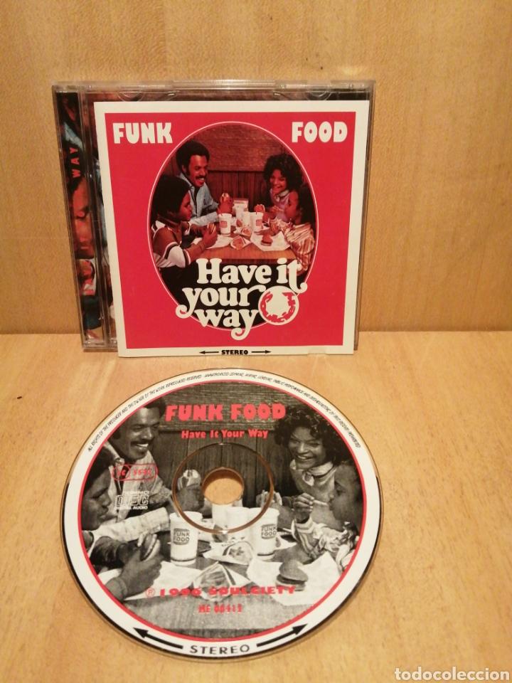 FUNK FOOD. HAVE IT YOUR WAY. RECOPILATORIO SOULCIETY. AÑO 1996. (Música - CD's Jazz, Blues, Soul y Gospel)