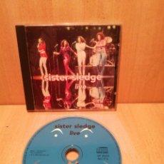 CDs de Música: SISTER SLEDGE. LIVE.. Lote 289203718
