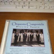 CDs de Música: ORQUESTA COMPOSTELA. DIOSETO SANTO. EDICIÓN HORUS MUY RARA.. Lote 289222743