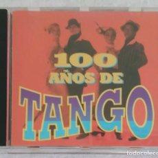 CDs de Música: 100 AÑOS DE TANGO - CD 1998 EDICIÓN ORFEON MEXICO (DISCEPOLO, CARLOS GARDEL, FRANCISCO CANARO...). Lote 289257748