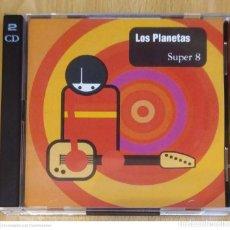 CDs de Música: LOS PLANETAS (SUPER 8) CD + CD SINGLE 1995. Lote 289317478