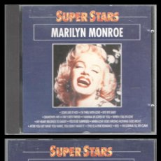 CDs de Música: D. CD. MARILYN MONROE, SUPER STARS.. Lote 289326693