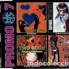 CDs de Música: PROMO 7 (CD, COMP, PROMO)-CARDBOARD-. Lote 289332398