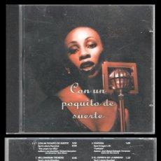 CDs de Música: D. CD. LOTERIAS Y APUESTAS DEL ESTADO, CON UN POQUITO DE SUERTE.. Lote 289333773