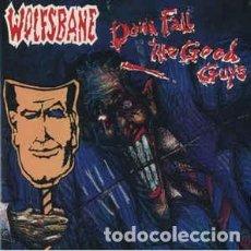 CDs de Música: WOLFSBANE - DOWN FALL THE GOOD GUYS. Lote 289339233