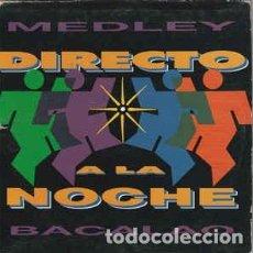 CDs de Música: DIRECTO A LA NOCHE - MEDLEY BACALAO --CARDBOARD-. Lote 289348788