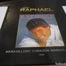 CDs de Música: CD LIBRO TODO RAPHAEL ( VER FOTOS ) MARAVILLOSO CORAZÒN MARAVILLOSO , TE VOY A ECHAR AL OLVIDO ,. Lote 289351608