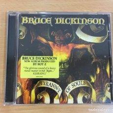 CDs de Música: CD HEAVY METAL DE BRUCE DICKINSON - TYRANNY OF SOULDS (2005). Lote 289363668