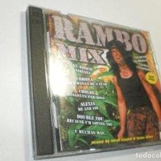 CDs de Música: CD DOBLE RAMBO MIX. BLANCO Y NEGRO 1996 SPAIN (BUEN ESTADO). Lote 289368163