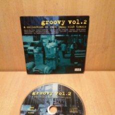 CDs de Música: GROOVY VOL. 2. A COLLECTION OF RARE JAZZ CLUB TRACKS.. Lote 289389533