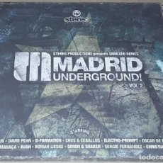 CDs de Música: CD - MADRID UNDERGROUND VOL 2 - DJ CHUS, DEUX, CHRISTIAN DURAN, SERGIO FERNÁNDEZ & ÁLVARO MARTIN. Lote 289401948
