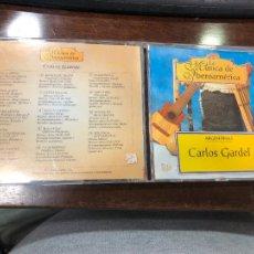 CDs de Música: CD LA MUSICA DE IBEROAMERICA - CARLOS GARDEL. Lote 289408998
