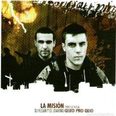 CDs de Música: DOBLE CD ÁLBUM - LA MISIÓN PRESENTA DJ KLEAN & DJ JOAKING - QUID PRO QUO - 26 TRACKS - AÑO 2006.. Lote 289433758