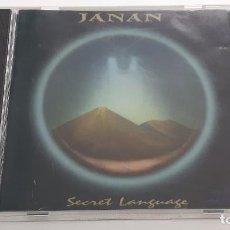 CDs de Música: CD JANAN - SECRET LANGUAGE. Lote 289433973