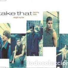 CDs de Música: TAKE THAT FEATURING LULU - RELIGHT MY FIRE (CD, SINGLE). Lote 289435178