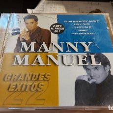 CDs de Música: CD.DE MANNY MANUEL -DOS CD -. Lote 289438993