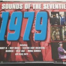 CDs de Música: 3 CD - SOUNDS OF THE SEVENTIES 1979 - COMO NUEVO. Lote 289439363