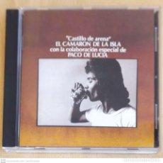 CDs de Música: CAMARON DE LA ISLA (CASTILLO DE ARENA - COLABORACION PACO DE LUCIA) CD 1997 MERCURY. Lote 289439593