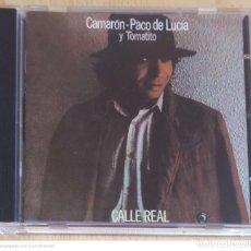 CDs de Música: CAMARON DE LA ISLA - PACO DE LUCIA Y TOMATITO (CALLE REAL) CD 1997 MERCURY. Lote 289440013