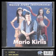 CDs de Música: D. CD. MARIO KIRLIS, MUSICA ARABE INSTRUMENTAL VOL. 6. Lote 289440203