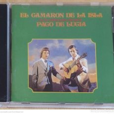 CDs de Música: CAMARON DE LA ISLA (SON TUS OJOS DOS ESTRELLAS - COLABORACION PACO DE LUCIA) CD 1997 MERCURY. Lote 289440753