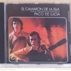 CDs de Música: CAMARON DE LA ISLA CON LA COLABORACION ESPECIAL DE PACO DE LUCIA - CD 1997 MERCURY. Lote 289441258