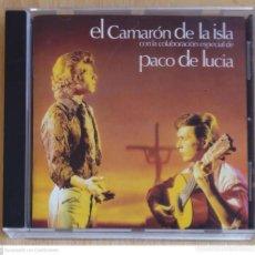 CDs de Música: CAMARON DE LA ISLA (CADA VEZ QUE NOS MIRAMOS - COLABORACION PACO DE LUCIA) CD 1997 MERCURY. Lote 289441663