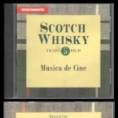 CDs de Música: D. CD. SCOTCH WHISKY, MUSICA DE CINE.. Lote 289442613