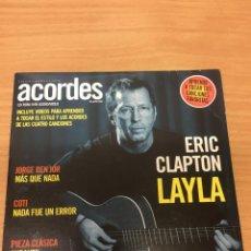 CDs de Música: CD DE LA REVISTA ACORDES Nº49 ERIC CLAPTON LAYLA. Lote 289443178