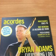 CDs de Música: CD DE LA REVISTA ACORDES Nº59 BRYAN ADAMS - EVERYTHING I DO I DO IT FOR YOU. Lote 289443468