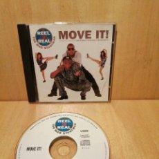 CDs de Música: REEL 2 REEL. FEATURING THE MAD STUNTMAN. MOVE IT!.. Lote 289456248