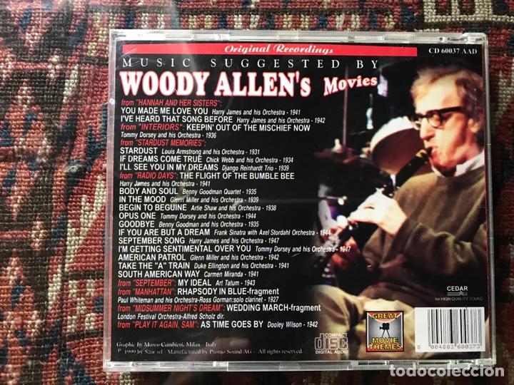 CDs de Música: Woody Allen. Movies - Foto 2 - 289458948
