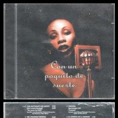 CDs de Música: D. CD. LOTERIAS Y APUESTAS DEL ESTADO, CON UN POQUITO DE SUERTE. (PRECINTADO). Lote 289469858