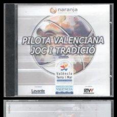 CDs de Música: D. CD. PILOTA VALENCIANA, JOC Y TRADICIO. (PRECINTADO).. Lote 289470598