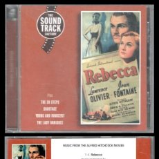 CDs de Música: D. CD. REBECA. LAURENCE OLIVIER Y JOAN FONTAINE.. Lote 289471383