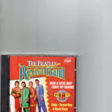 CDs de Música: CD - THE BEATLES REVIVAL BAND - WITH A LITTLE HELP FROM OUR FRIENDS - 1992. Lote 289472433